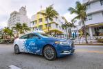 Ford teste ses véhicules autonomes dans les rues de Miami