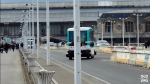 La navette autonome de la RATP en test à Saclay