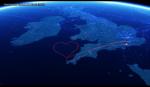 Virgin Atlantic célèbre la Saint Valentin avec un parcours en forme de coeur